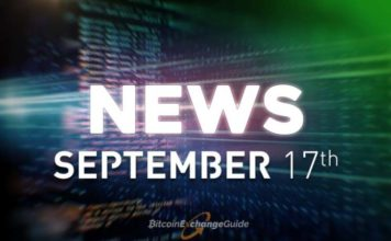 Bitcoin, Blockchain and Cryptocurrency News For Today September 17th [VIDEO] Recap