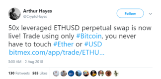 BitMEX Exchange Advises Short Selling -- Did It Cause Today's Ethereum Crash?