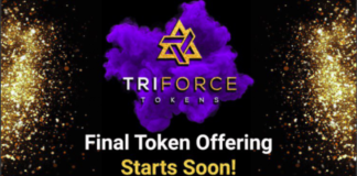 TriForce Tokens Prepares for Final Token Offering, Following Successful Year