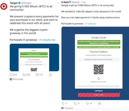 An Army Of 'Verified' Twitter Accounts Is Promoting Bitcoin Scams