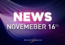 Daily Recap: Blockchain and Cryptocurrency News For Today November 16th [VIDEO]