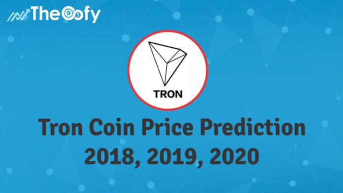 cryptocurrency tron price