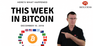 Bitcoin News Summary - Décembre 10, 2018