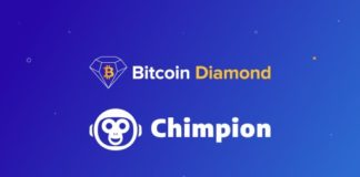 Chimpion Partners With Bitcoin Diamond to Drive E-Commerce Forward - Press Release