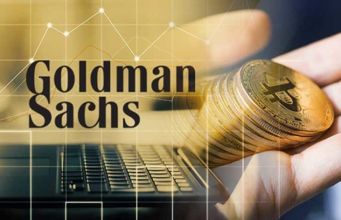 Has goldman sachs invested into bitcoin anoxi