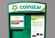 Coinstar kiosk in United States
