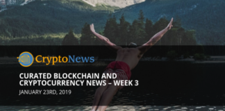 Curated blockchain and cryptocurrency News – Week 3'19 - Crypto News