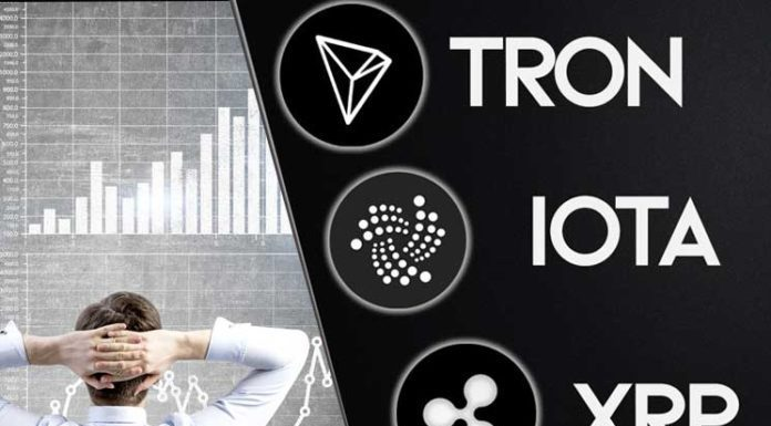 Globally Three Coins are Top Performers: IOTA (MIOTA), Ripple's XRP and Tron (TRX) - Today's Gazette