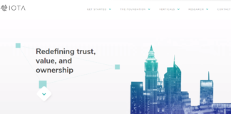 IOTA Page d'accueil