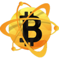 Logotipo do Bitcoin Atom