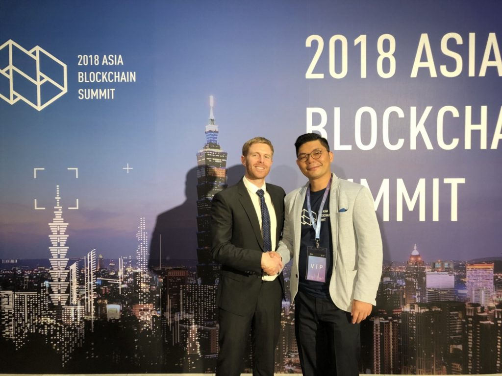 "Ryan Terribilini, co-fundador e CEO da Formosa Financial com Jason Hsu, ""Crypto Congressman"" de Taiwan"