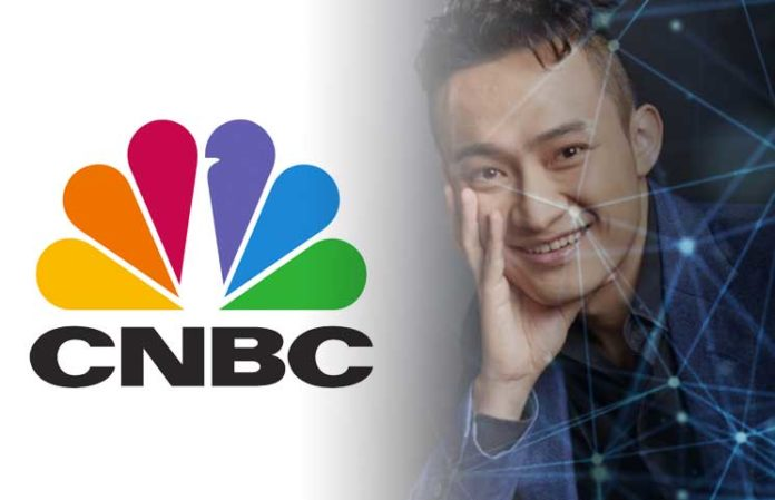Tron CEO Justin Sun Tells CNBC He Trusts Blockchain is the