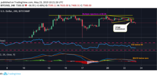 Price Dip Leaves Bitcoin Exposed to $7.2K Support