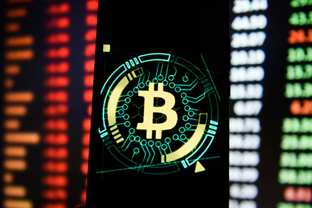 Bitcoin-Logo © Getty Images