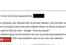 'Sextortion botnet spreads 30,000 emails an hour'
