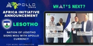 Apollo Currency signe un protocole d'accord avec la nation du Lesotho dans le cadre de l'initiative Blockchain - NullTX