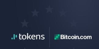 Tokens.net forsegler partnerskab med Bitcoin.com som officiel SLP-partner