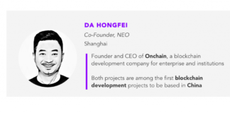 WATCH: In Conversation with Da Hongfei, Neo: China-Born Digital Asset Protocol