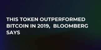 Token Outperformed Bitcoin in 2019 According to Bloomberg News
