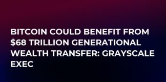 비트 코인, $ 68 Trillion Generational Wealth Transfer : Grayscale Exec 혜택