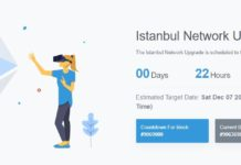 Ethereum Istanbul Blockchain Upgrade Under One Day Away; What's New? - newsBTC