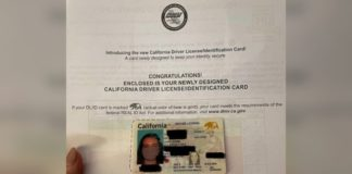 California woman's new REAL ID has a photo of her wearing a face mask