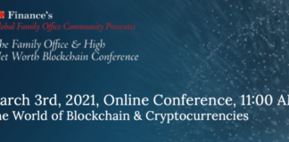 The Online Family Office et High Net Worth Blockchain Conference - The Daily Hodl